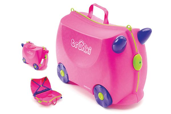Roze Trunki Trixi kinderkoffer.