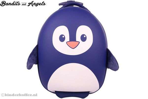 Kinderkoffer Pinguin Navy van Bandits & Angels.
