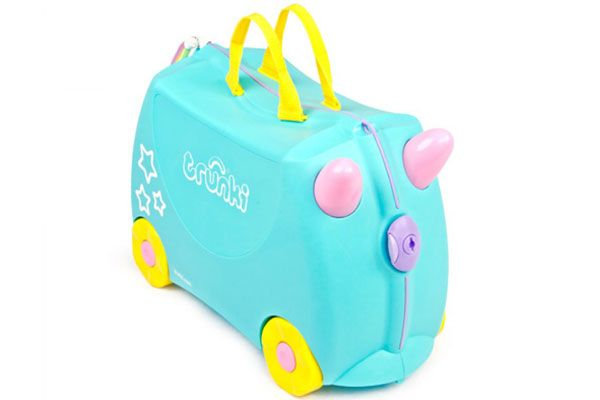 Una the Unicorn kinderkoffer van het merk Trunki.