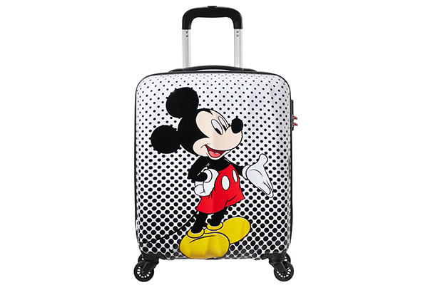 Disney Legends Spinner 55 Mickey Polka Dot